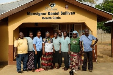 The Healey International Relief Foundation, based in Lumberton, N.J., opened the Monsignor Daniel Sullivan Health Clinic in Newton, Sierra Leone in 2015. It's already expanding, with a maternity ward expected to open next year.