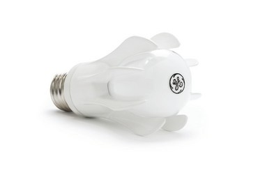 General Electric's first LED for the consumer market has clean, graceful lines and wonderful, bright light quality at 3,000K. Unfortunately, it launched in 2010 at a price of about $50. Since then, GE has developed other LED bulbs with a lower price tag and the predictable A19 shape of traditional incandescent bulbs.