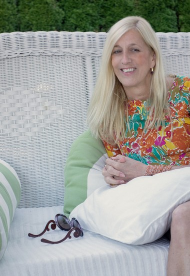 """Interior designer Florence Dampierre, author of """"French Chic Living."""""""