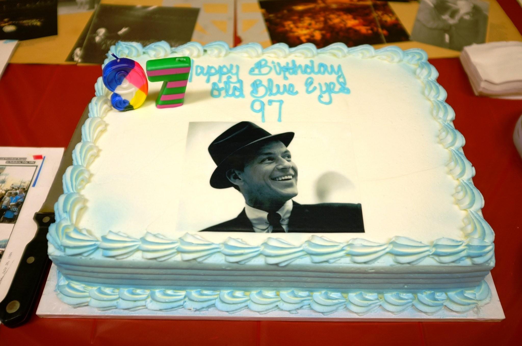 Super Cake Boss Buddy Valastro Provides Cake For Frank Sinatras Personalised Birthday Cards Paralily Jamesorg
