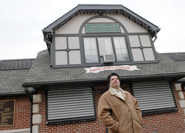 Hoboken information specialist Patrick Ricciardi, seen here in a 2007 Jersey Journal file photo when the city opened its first wifi hotspot, admitted to federal officials that he'd set up an illegal email archive, the criminal complaint against him alleges.
