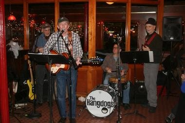 Gene Turonis performs with the Tommy's Talent Show house band at Maxwell's final night under the current ownership.