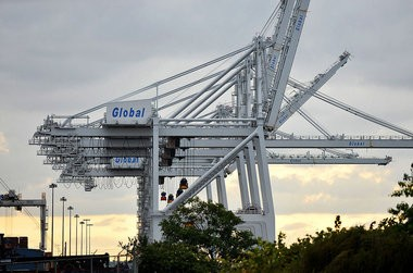 """Global Terminal and the other maritime Port Jersey facilities are feeling Jersey City's anger over being ignored by the Port Authority of New York and New Jersey for a sit down about the agency's """"paltry"""" in lieu of taxes payments."""