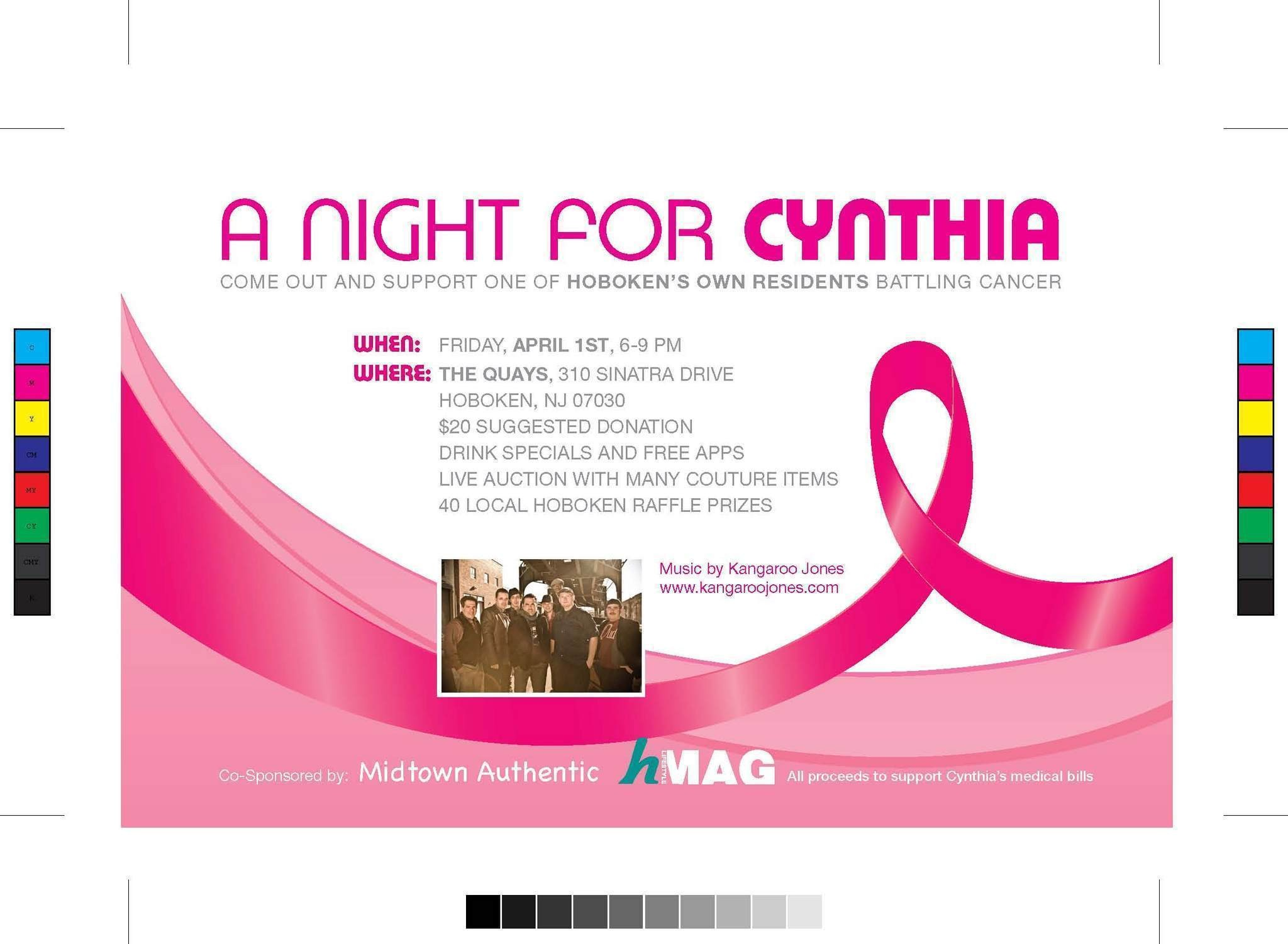 Hoboken Business Owner Co Hosts Fundraiser For Friend With Colon Cancer Nj Com