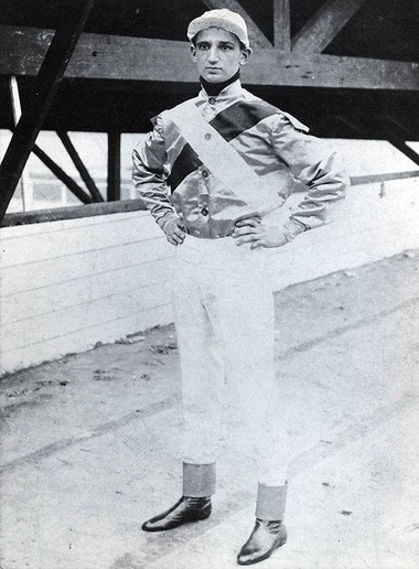 Vincent Powers (Photo courtesy National Museum of Racing and Hall of Fame)