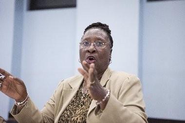 Councilwoman at large Viola Richardson