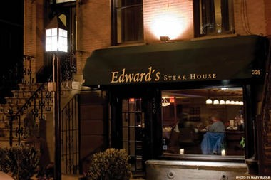 Edward's Steakhouse, on Marin Boulevard in Jersey City, is one of the Hudson County restaurants participating in Restaurant Week this year.