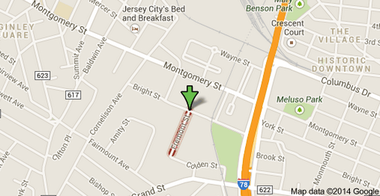 Two Jersey City brothers stabbed each other in an apartment on Fremont Street in Jersey City on Jan. 19, 2014.