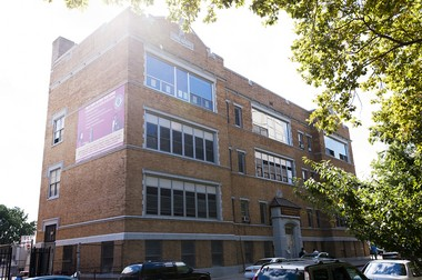 St. Anthony High School is housed in a 98-year-old building at 175 Eighth St. in Jersey City. (Reena Rose Sibayan | The Jersey Journal)
