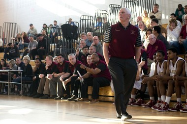 Bob Hurley has presided over the St. Anthony boys basketball program since 1972. (Molly J. Smith | The Jersey Journal)