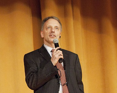 Colin Egan, director of the Landmark Loew's Jersey Theatre in Jersey City. Alyssa Ki | The Jersey Journal