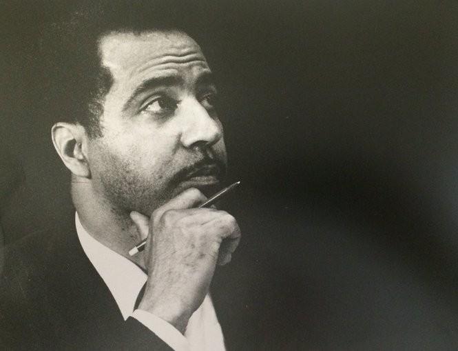 Former Jersey City Mayor Glenn D. Cunningham in 1989.