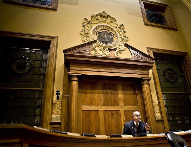 Former Jersey City Councilman Mariano Vega Jr. in 2008. Conner Jay | The Jersey Journal