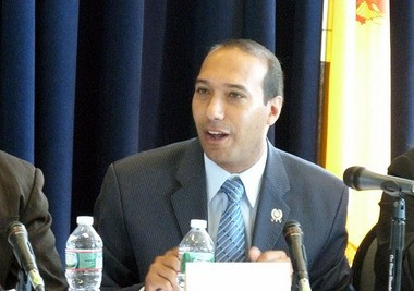 Ruben Ramos easily defeated two other candidates in the race for the Hoboken Fourth Ward City Council seat on Nov. 3, 2015. (Journal file photo)