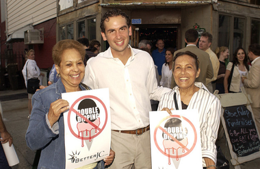 Steve Fulop back in 2008, when he was staunchly anti-double dipping.
