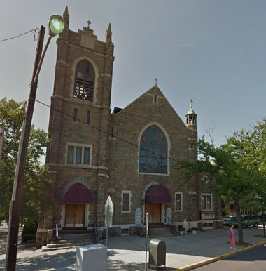 The incident allegedly took place outside Our Lady of Victories Church on Kennedy Boulevard in Jersey City.