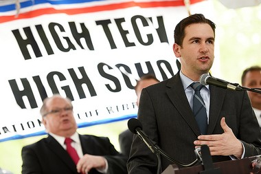 Not much is known about a job Mayor Steve Fulop had with auto company FAPS in 2012. Reena Rose Sibayan | The Jersey Journal