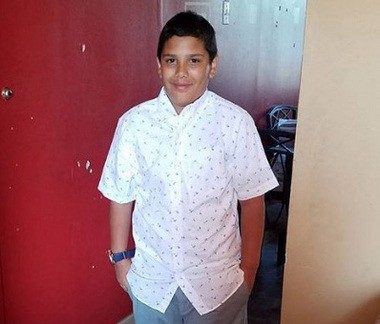George Gonzalez, 11, was struck and killed by a commuter bus this morning at the intersection of Kennedy Boulevard and Neptune Avenue in Jersey City, authorities said.