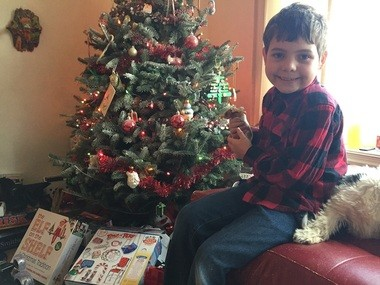 Joe Maldonado, the 8-year-old transgender boy barred from his local Cub Scout pack in Secaucus.