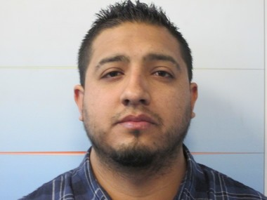 Police say Washington Cervallos-Vega owed $13,389 in tolls and fees when stopped at the Lincoln Tunnel on Wednesday