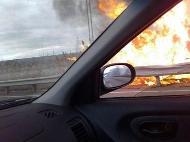 Brush fire breaks out along Newark-Jersey City Turnpike - nj com