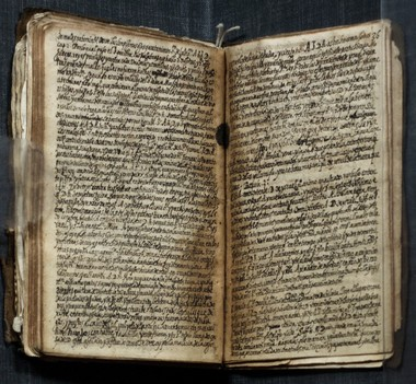 Luis de Carvajal (ca. 1567-1596) autobiographical manuscripts with devotional manuscripts are part of the exhibit at the New York Historidal Society