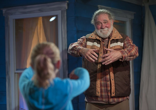 "Richard Masur is starring in the show ""The Net Will Appear"" at Mile Square Theatre until Oct. 8. (Photo by Joe Epstein)"