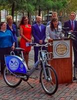 Hudson Bike Share's 2015 launch in Hoboken
