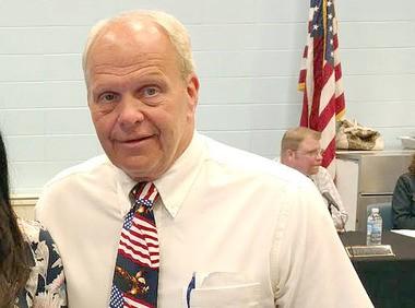 Secaucus High School Principal Dr. Robert Berckes has been suspended by the district. (Secaucus school district photo)