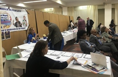 Attendees at the New Jersey Re-entry Corp.'s Immigration Conference at St. Anthony of Padua Church in Union City on Thursday, July 19, 2018, could pick up information on a variety of topics.