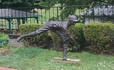 """""""The Pitcher"""" at Original Field in Willamsport, Pennsylvania. Photo courtesy of Jimmy Enright."""