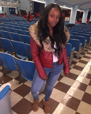 Lincoln High School student Jade Saunders, 17, was fatally shot in Jersey City yesterday, Oct. 27, 2018.