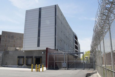 Federal agents raided the Hudson County jail in Kearny yesterday morning, taking documents and other items from administration offices, sources told The Jersey Journal.