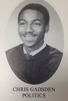 Chris Gadsden knew when he graduated from Snyder High School in 1992 that he would enter the world of politics.