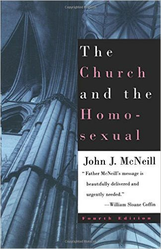 Book jacket from John McNeill's controversial work.