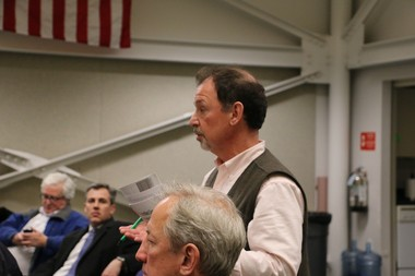 Nick Corcodilos, a former mayor of Clinton Township, speaks at a council meeting in January of 2016. (NJ Advance Media file photo)