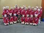 The Hunterdon Huskiesâ Junior PeeWees took first place in their eight-team bracket during last monthâs American Youth Cheer National Championships in Florida.