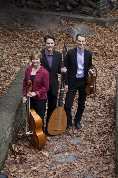 Chatham Baroque will perform on May 3 at 7:30 p.m. at the Prallsville Mill in Stockton. The trio will perform music by Corelli, Scarlatti, Couperin, Geminiani, and more as a part of the Raritan River Music Festival. (Photo by Marc Giosi)