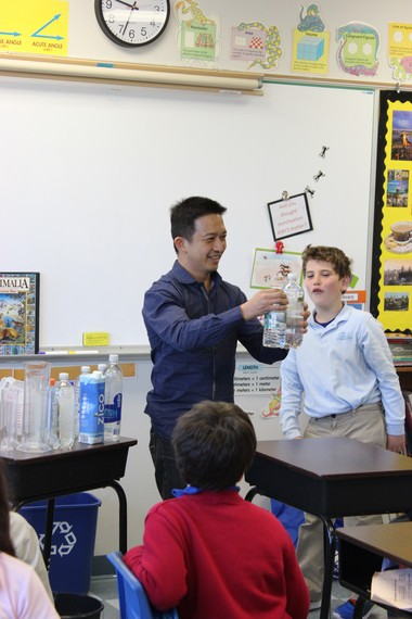 Internationally recognized leader in Singapore math Yeap Ban Har, Ph.D., instructs kindergarten through sixth grade students during open lessons at Gill St. Bernardâs School.