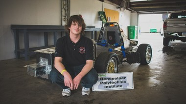 Magna-Power Electronics, a high-technology electronics manufacturer in Flemington, sponsored the Rensselear Polytechnic Institute Formula Hybrid Racing team, which included Hunterdon County native and Magna-Power intern Szymon Morawski.