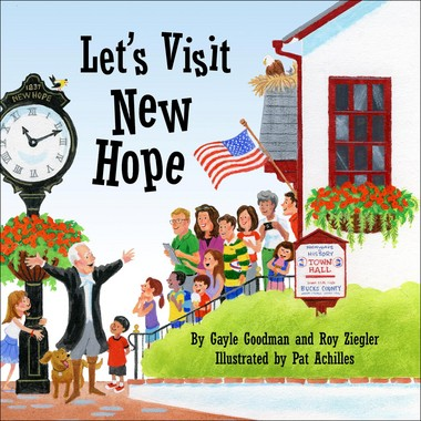 On March 1, 2-4 p.m. the New Hope Historical Society will host a free book-signing event for 'Let's Visit New Hope' and will be presented at the Parry Mansion, 45 S. Main St. in New Hope as part of the annual Benjamin Parry Day celebration. (courtesy photo)