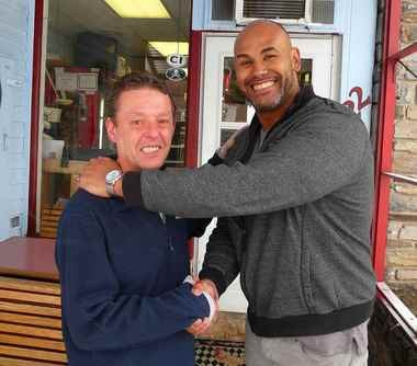 Jim Boggess and Bhakti Curtis have resolved their differences with an apology, a friendly discussion and a handshake.