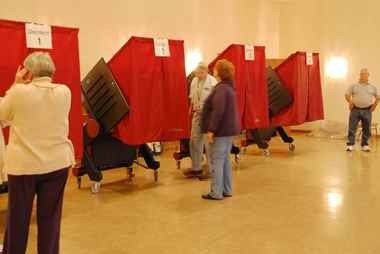 Voters will take to the polls on Nov. 3 for the election.