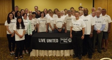 United Way of Hunterdon County would like to thank the 56 volunteers who helped individuals and families file 1,100-plus tax returns through its IRS-certified Volunteer Income Tax Assistance (VITA) program - 10% increase over the previous tax year. (courtesy photo)