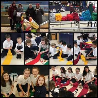 Immaculate Conception School celebrated National Catholic Schools Week with a community service day and two open house events.