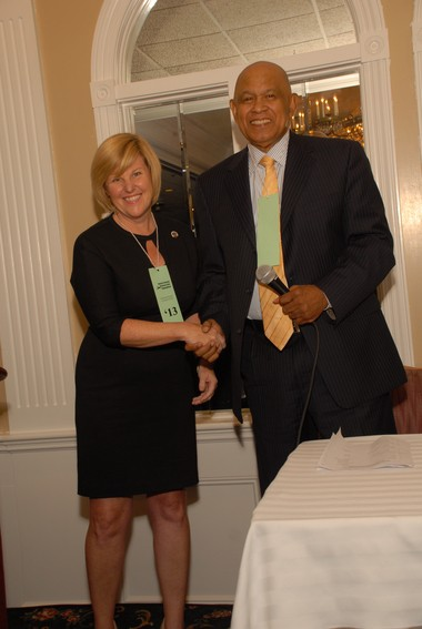 Veteran Assemblyman succeeds Charlotte DeFilippo as Chairman of UCDC. Fanwood Mayor Colleen Mahr elected Vice-Chairman.