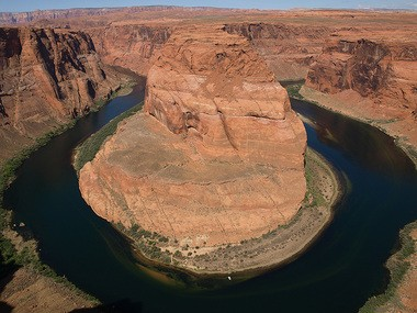 Pictured is the Colorado River, Horseshoe. (Photo by Michal Barkai)