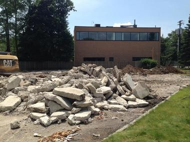 End of an era for First Aid Squad building. (courtesy photo)