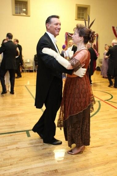 Dancers enjoy a foxtrot at the 2013 Armistice Ball. This year's Ball is Nov. 8. (Photo by Metropolitan Vintage Dance & Social Club)