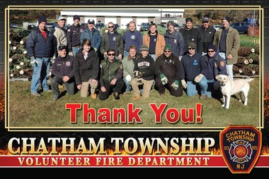 The Chatham Township Fire Department appreciates the support the community's shown. (courtesy photo)